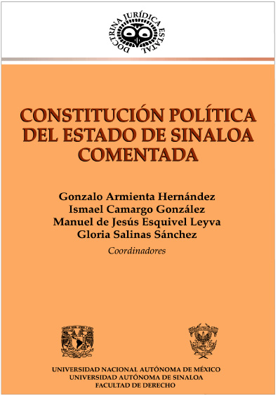 Constitución Política del Estado de Sinaloa comentada