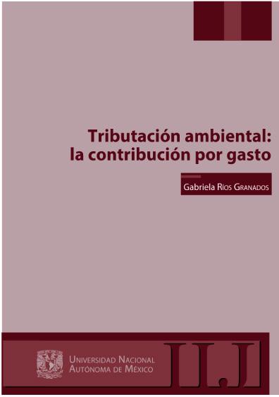 Tributación ambiental: la contribución por gasto