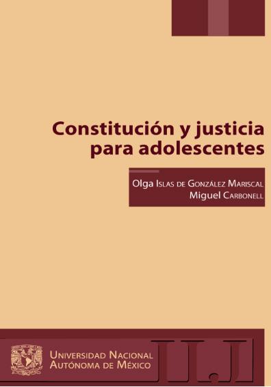 Constitución y justicia para adolescentes