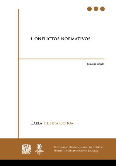 Conflictos normativos, 2a. ed.