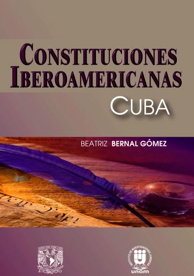 Constituciones iberoamericanas. Cuba