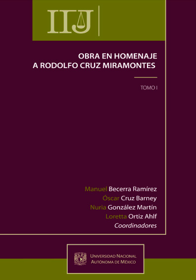 Obra en homenaje a Rodolfo Cruz Miramontes, t. II