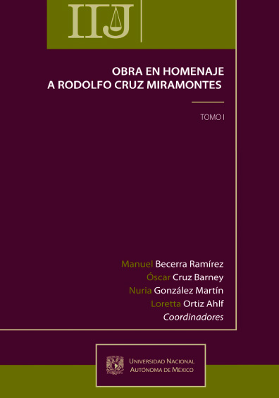 Obra en homenaje a Rodolfo Cruz Miramontes, t. I