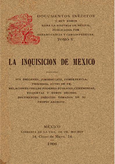La inquisición de México
