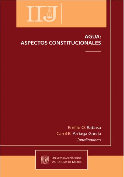 Agua: aspectos constitucionales