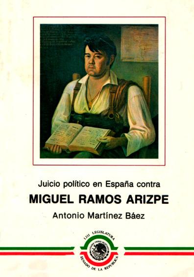 Juicio político en España contra Miguel Ramos Arizpe, Libro dos