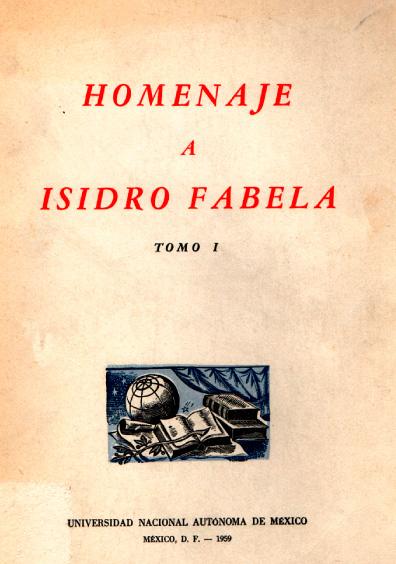 Antología del pensamiento universal de Isidro Fabela, t. I, Antología
