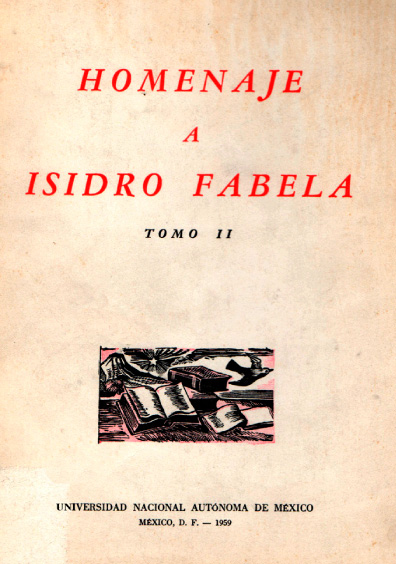 Homenaje a Isidro Fabela, t. II