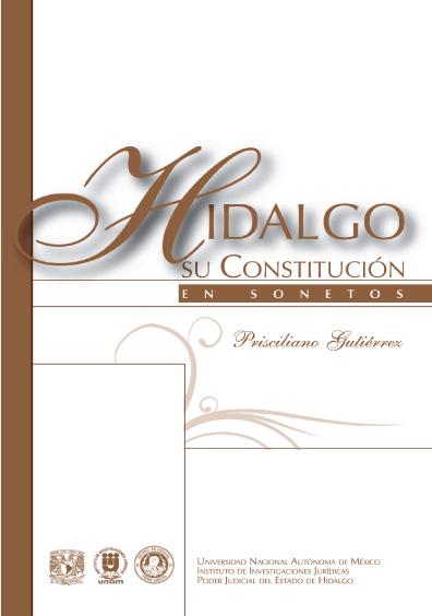 Hidalgo su Constitución en sonetos