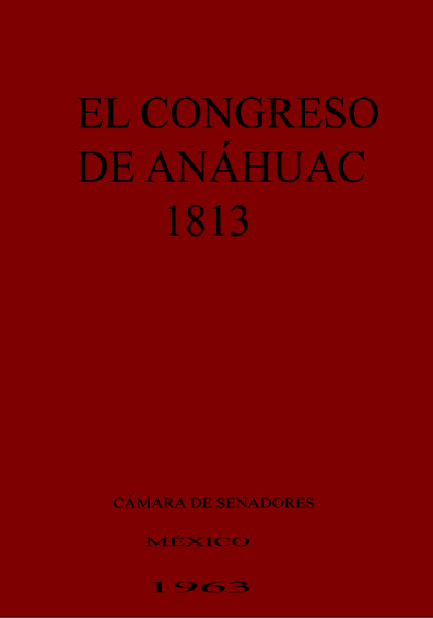 El Congreso de Anáhuac