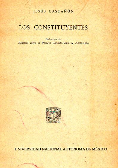 Los constituyentes