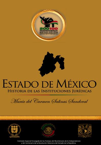 Estado de México. Historia de las instituciones jurídicas