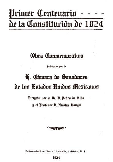 Primer Centenario de la Constitución de 1824