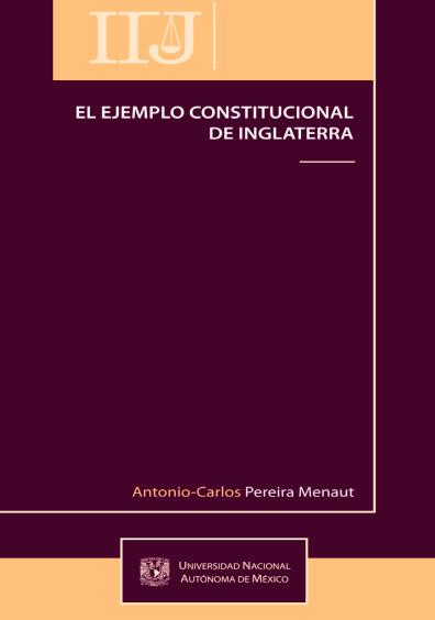 El ejemplo constitucional de Inglaterra