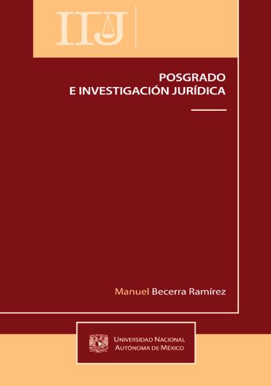 Posgrado e investigación jurídica
