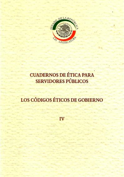 Los códigos éticos de gobierno