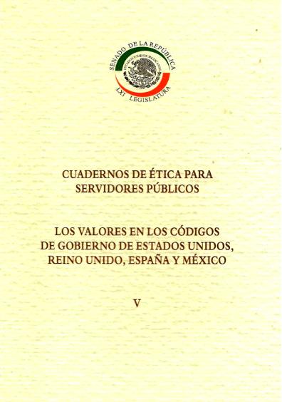 Los valores en los códigos de gobierno de Estados Unidos, Reino Unido, España y México