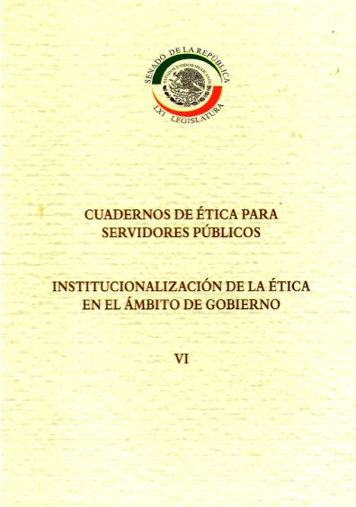 Institucionalización de la ética en el ámbito de gobierno