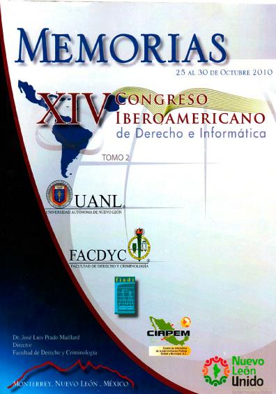 Memorias del XIV Congreso Iberoamericano de Derecho e Informática, t. 2