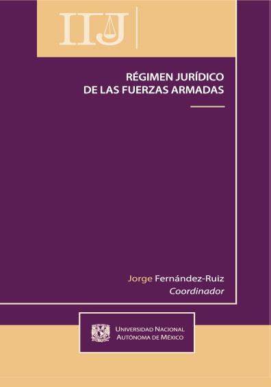 Régimen jurídico de las fuerzas armadas