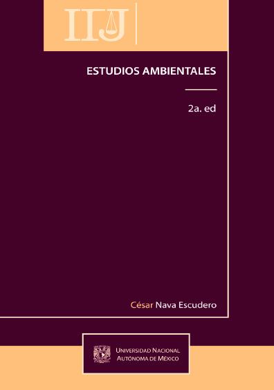 Estudios ambientales, 2a. ed.