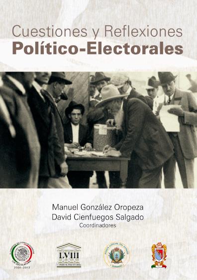 Cuestiones y reflexiones político-electorales