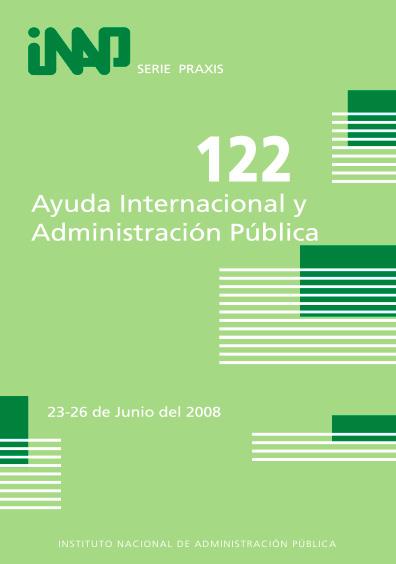 Praxis 122. Ayuda internacional y administración pública