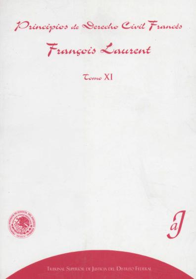 Principios de derecho civil francés, t. XI