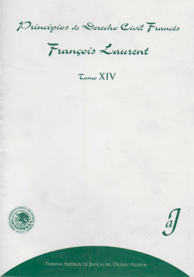 Principios de derecho civil francés, t. XIV