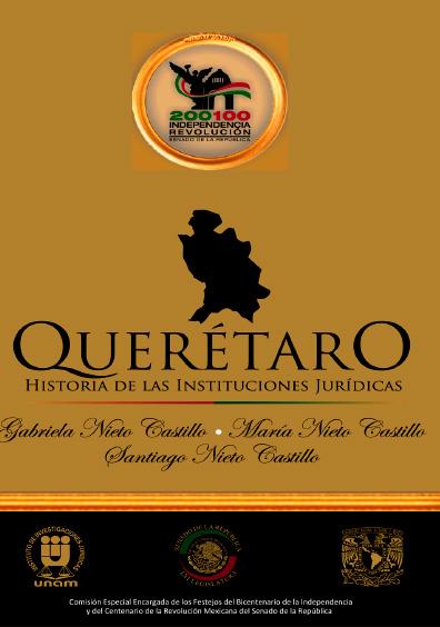 Querétaro. Historia de las instituciones jurídicas
