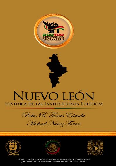 Nuevo León. Historia de las instituciones jurídicas