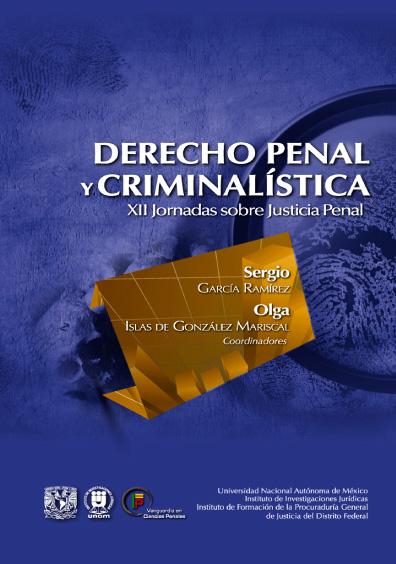 Derecho penal y ciminalística