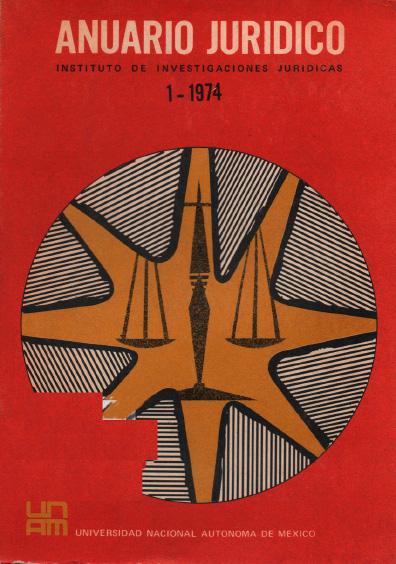 Anuario Jurídico I-1974