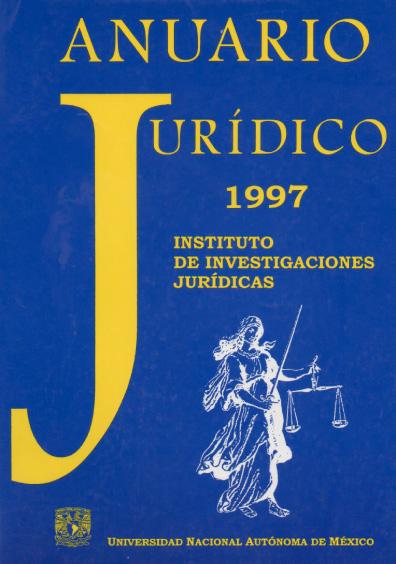 Anuario Jurídico 1997