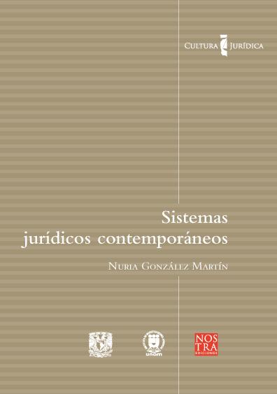 Sistemas jurídicos contemporáneos. Colección Cultura Jurídica