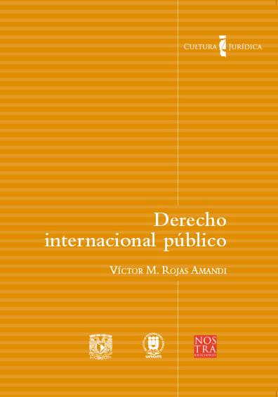 Derecho internacional público. Colección Cultura Jurídica