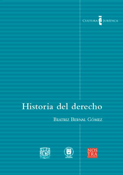 Historia del derecho. Colección Cultura Jurídica