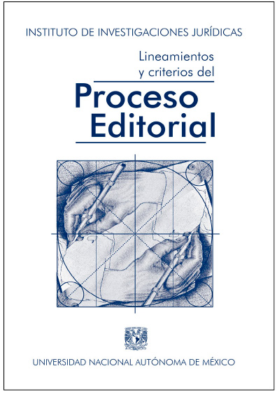 Lineamientos y criterios del proceso editorial