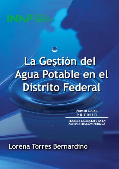 La gestión del agua potable en el Distrito Federal
