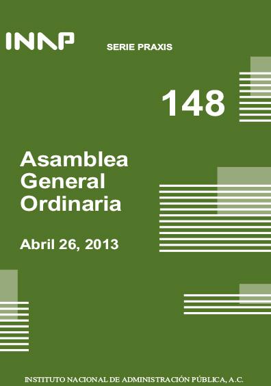 Praxis 148. Asamblea General Ordinaria, abril 26, 2013