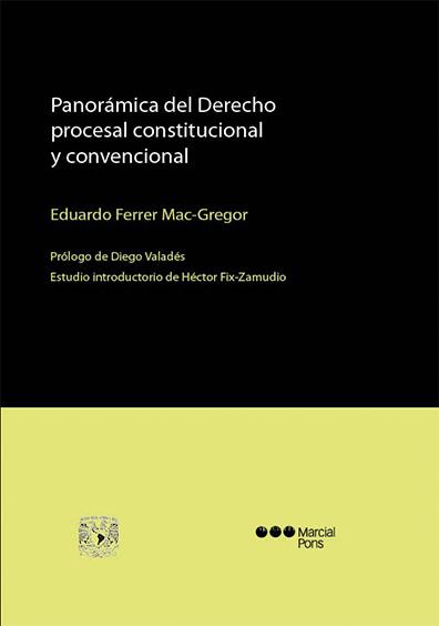 Panorámica del derecho procesal constitucional y convencional, 2a. reimp.