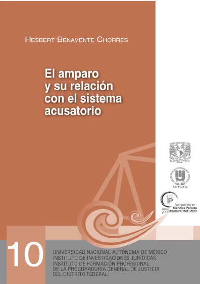 El amparo y su relación con el sistema acusatorio. Serie Juicios Orales, núm. 10