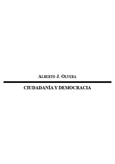 Ciudadanía y democracia. Colección Instituto Federal Electoral