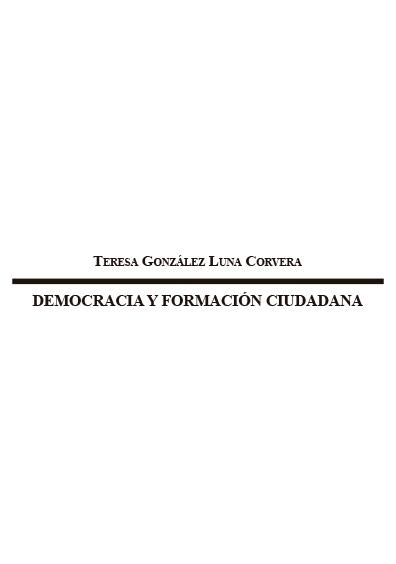 Democracia y formación ciudadana. Colección Instituto Federal Electoral