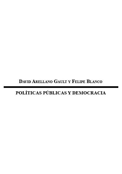 Políticas públicas y democracia. Colección INstituto Federal Electoral
