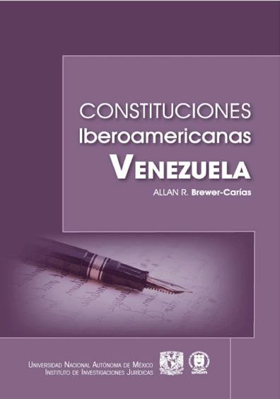 Constituciones iberoamericanas. Venezuela