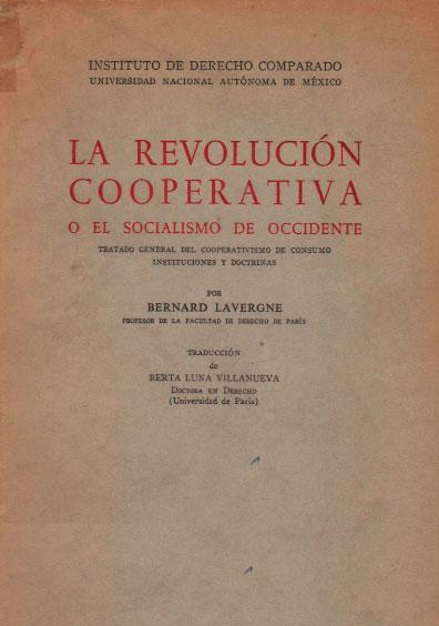 La revolución cooperativa o el socialismo de Occidente