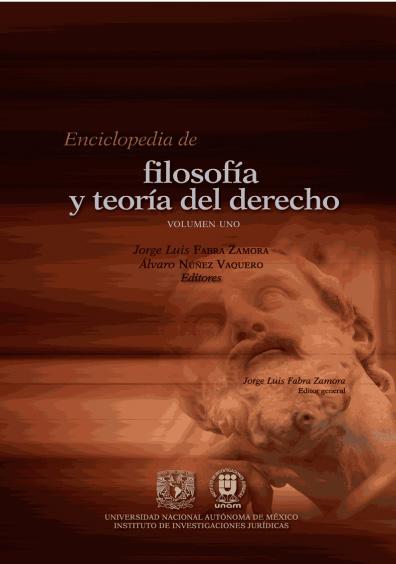 Enciclopedia de Filosofía y Teoría del Derecho, volumen dos