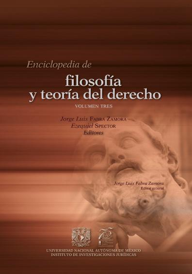 Enciclopedia de Filosofía y Teoría del Derecho, volumen tres
