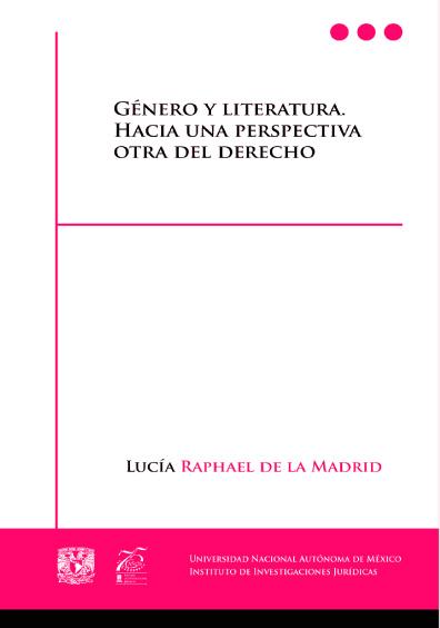Género y literatura. Hacia una perspectiva otra del derecho